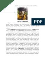 CALIXTO GARMENDIA y Analisis Literario