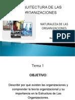 Arquitectura de Las Organizaciones