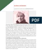 Biografía de Juana Alarco De
