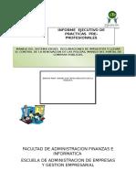 1 Informe Ejecutivo de Pasantias