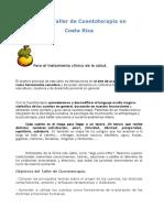 Primer Taller de Cuentoterapia en Costa Rica Para El Tratamiendo Clinico de La Salud
