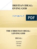 The Christian Ideal Loving God