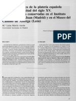 ANSÓN (1991) Platería Espanõla Seg. Mitad s. XV, Cruzes Mdrid y Léon