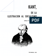 Florez. Kant, De la Ilustración al Socialismo