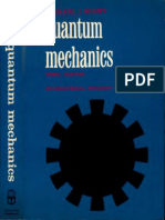 Leonard Schiff Quantum Mechanics