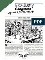 Gangsters of the Underdark