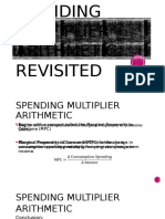 Spending Multiplier Arithmetic Revisited