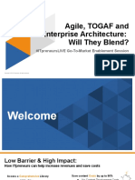 Agile Togaf and Enterprise Architecture