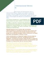 La Primera Internacional Obrera(resumen)