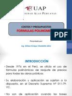 Clase 5 - Formula Polinomica