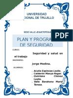 Plan y Programa de Seguridad