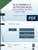 Crisis Económica y Conflictos Sociales