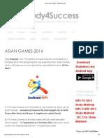 Games 2014 pdf asian