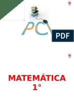 Pci Consolidado de Matematica Secundaria