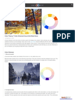 7 Color Schemes Every Artist Must Know