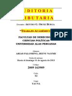 AUDITORIA TRIBUTARIA NAYME