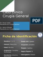 Caso clinico fistula enterovesical