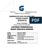 1. Front Page Tugasan Edu3073