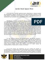 Presentación HackSpace Perú para Universidades