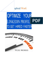 Optimize Your Linkedin Profile Tp Get Hired Faster