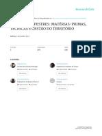 Materias Primas Pigmentos Estudos Quaternario