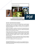 0901 Convocatoria Proyectos Pilotos de Conservacion