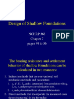 5 Shallow Foundation Design 2011
