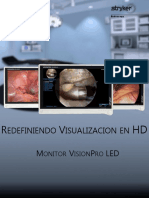 VisionPro LED Monitor Brochure Español (April 2 2014)