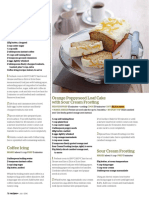 Recipes - Coffee With Loaf Cake With Coffee Icing
