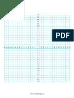 Numbered Four Quadrant Grid