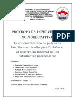 Proyecto Socioeducativo Final
