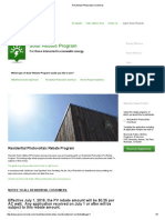 Riverside Public Utilities - Residential Photovoltaic Incentives