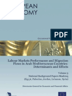 Labour Markets Performance & Migration Flows - Egypt, Palestine, Jordan, Lebanon, Syria