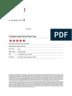 Franklin India Prima PlusFund