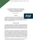 Development Discourse of Globalization
