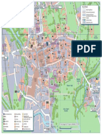 2016 Experience Oxfordshire Tavel Oxford Map