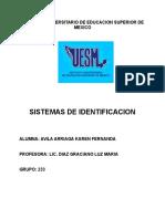 Sistemas de Identtidicacion