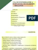 Sistematização da Assistência de Enfermagem à gestante com diabetes melitus
