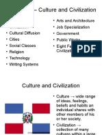 Culture and Civilization