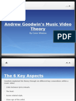 Goodwin's Music Video Theory