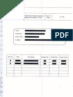 Method Statement for Static Equipment Installation