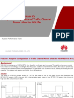 Huawei Adaptive Configuration of Traffic Channel Power Offset for HSUPA Case