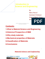 Introduction to Materials