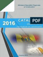 Catalogul Documentelor Normative in Constructii 2016(2)