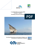 Coastal Profile Volume i - Themes Zanzibar
