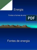 Energia - 2 - Fontes e Formas de Energia