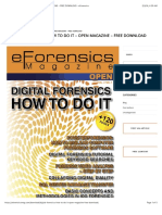 Digital Forensics – How to Do It – Open Magazine – Free Download - Eforensics