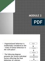 Organizational Behaviour 2