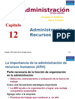 Diapositivas Robbins Cap 10 recursos humanos