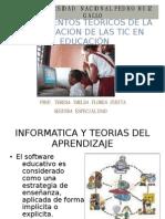 Fundamentos Teoricos e Integracion de Las Tic.